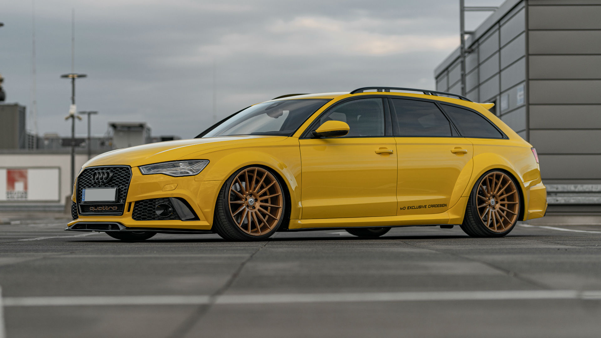 Audi A6 C7 Allroad 3 0 Tdi Tuning Pd600r Widebody Aero Kit Artform Af 401 Wheels In 10 5x21 M D Exclusive Cardesign