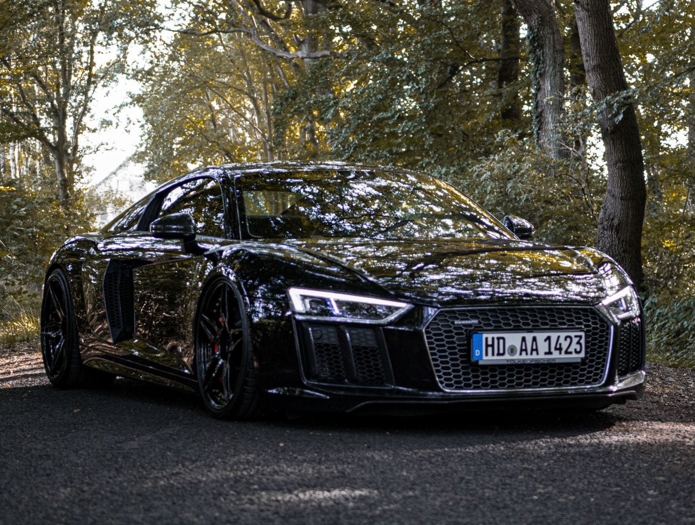 Audi R8 Coupe V10+ - Z-Performance Wheels - ZP.FORGED 21 Deep Concave