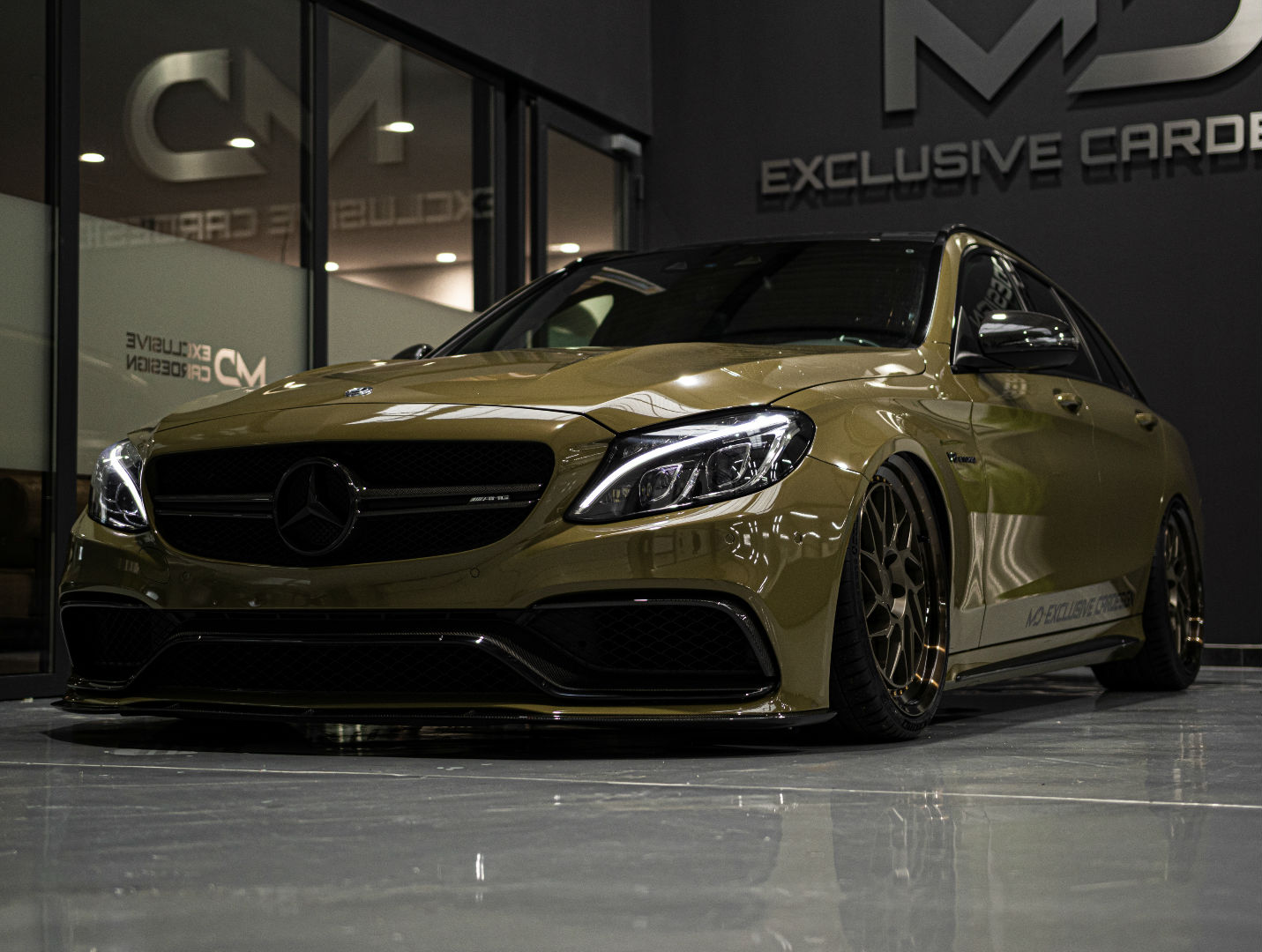 Mercedes-AMG C63 S205 T-Modell - Z-Performance Wheels - ZP.FORGED 12 Deep Concave