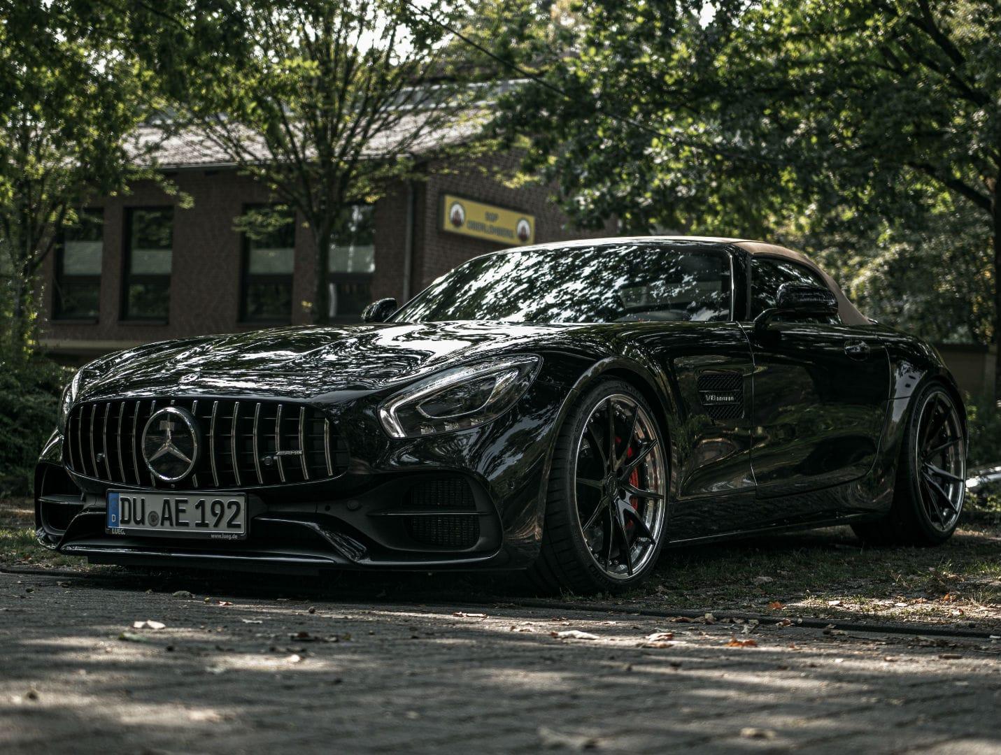 "Mercedes-AMG GT C Roadster R190 Felgen - Z-Performance Wheels - ZP.FORGED 2 Deep Concave Matt Gunmetal in9,5 x 20"" & 12 x 21"""